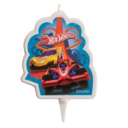 Bougie 2D Hot Wheels -...