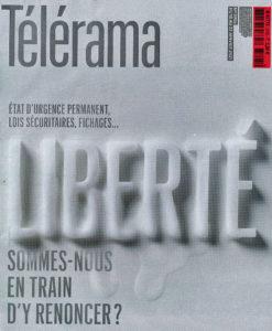 Couverture Télérama- Bougies lettres Eurobougie